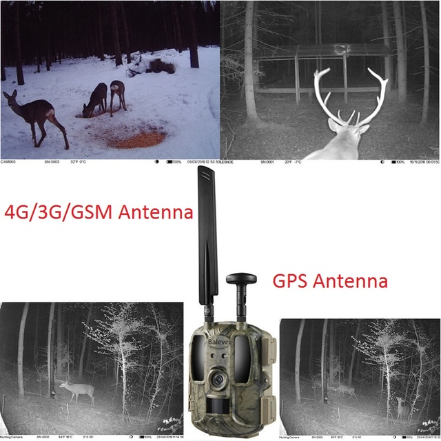 Balever LTE WCDMA GSM Wireless 2G 3G 4G Hunting Trail Cameras IP66 No Flash MMS Email FTP and APP