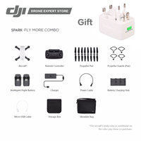 DJI Spark Drone летать более комбо Портативный Quadcopter жест Управление Wi Fi FPV 1080 P видео Запись 12MP Камера удаленного Управление лер