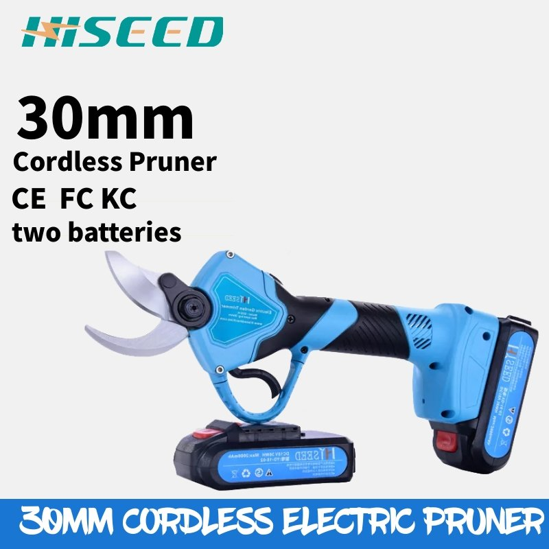 HISEED 30mm cutting electric secateurs MAXIMUM RATIO 600w electric pruner in pruning shearHISEED 30mm cutting electric secateurs MAXIMUM RATIO 600w electric pruner in pruning shear