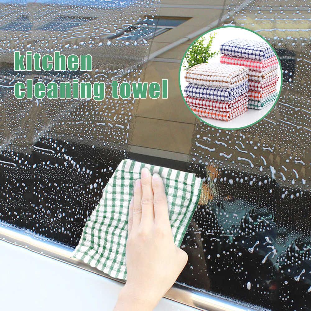 Ev mutfak havluları emici Thicke süper emici mikrofiber silin masa mutfak havlusu temizlik bulaşık yıkama bezi 27