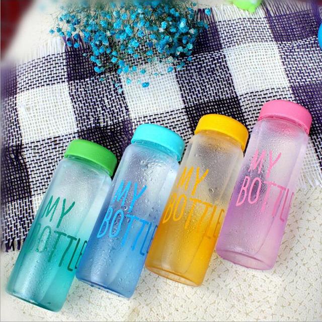 Water Bottles Portable Plastic Bottle Creative Juice Tea Coffee Space Cup Drinkware Hot Sale D30