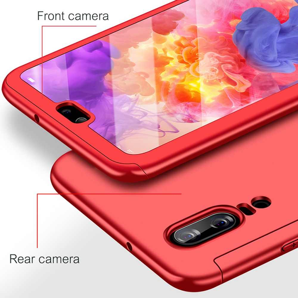 Luxo 360 Caso Completo Para Huawei Companheiro 20 Pro Case For Huawei Companheiro 20 10 9 Pro P20 Lite Pro capa À Prova de Choque Caso Com Vidro Funda