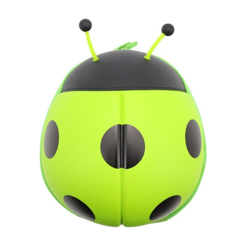 Wulekue Nylon Ladybug School Bag For 1-3 Age Kids Backpack
