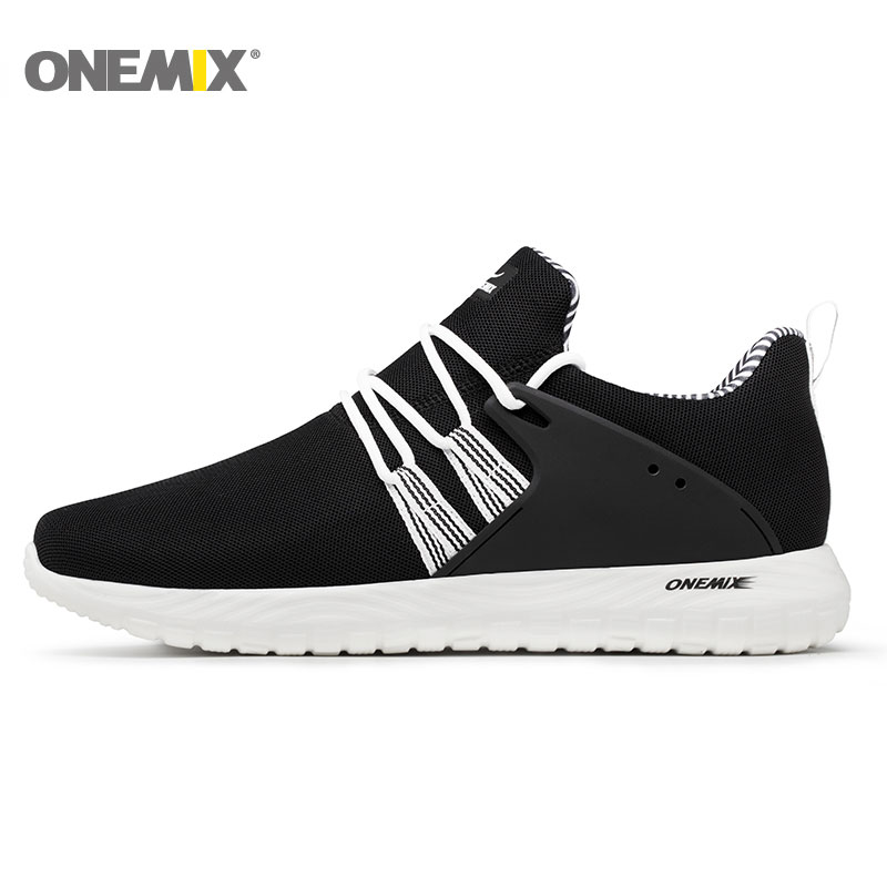 Onemix Breathable Mesh Running Shoes For Men Sports Sneakers For Women Lightweight Sneakers For Outdoor Walking Trekking Shoes peak sport men outdoor bas basketball shoes medium cut breathable comfortable revolve tech sneakers athletic training boots