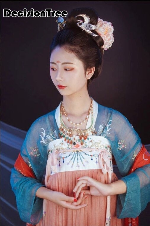 2019 new chinese style women's hanfu costume cantonese embroidered skirt + clothes traditional chinese beautiful dance hanfu