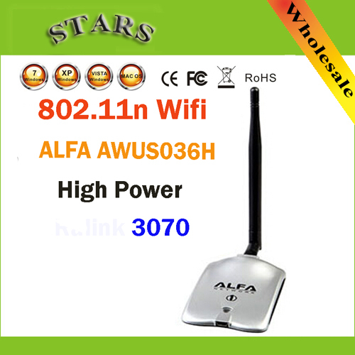 New 2015 High Power ALFA AWUS036H 1000MW WIFI font b Wireless b font USB Network Adapter