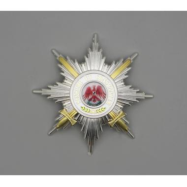 EMD The Order Of The Red Eagle 1st Class With Swords Breast Star2
