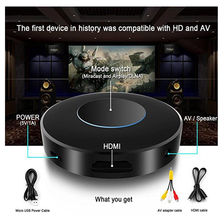 HFLY WIFI wireless HDMI/AV display Receiver Dongle,1080P HD TV sticker-streaming media support Miracast airplay DNLA chromecast