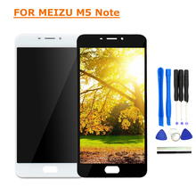 For Meizu M5 Note LCD Display Touch Screen Digitizer Repair Parts 5.5 inch MeiBlue M5 Note LCD Display Screen With Free Tools цена и фото