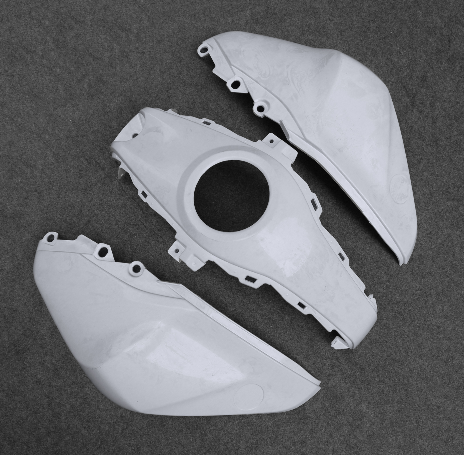 Fuel Gas Petrol Tank Fairing Shell Cowl Shelter For Yamaha YZF-R3 R25 2013-2017 14 15 16