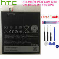 100% Original BOPJX100 battery For HTC One E9 Battery E9w E9+ Plus E9PW Powerful Battery 2800mAh Real Replacement mobile