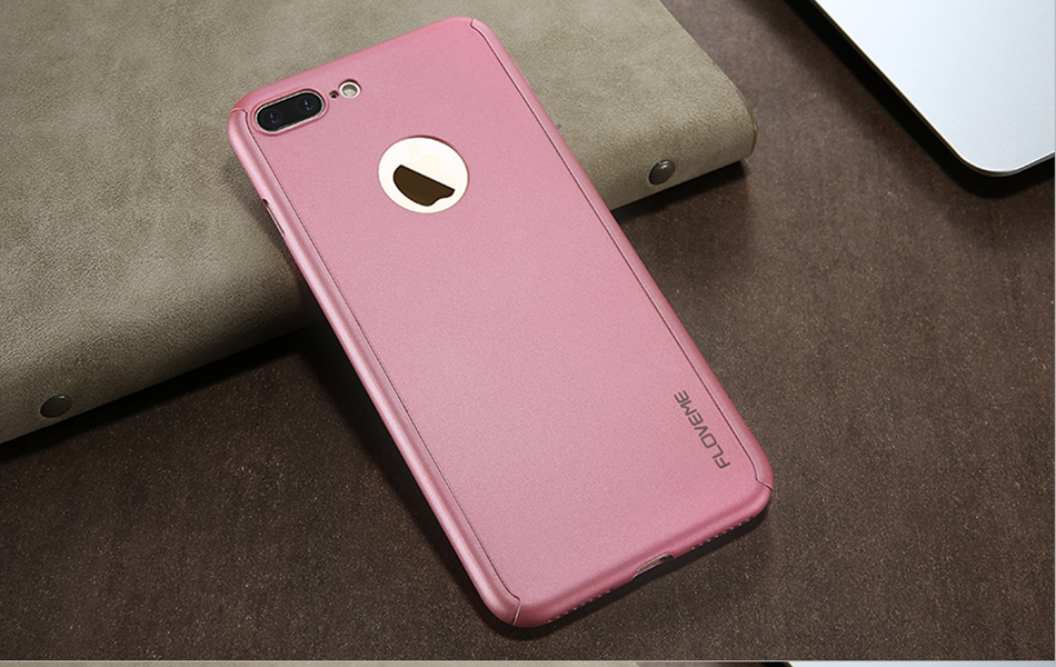 360 Degree Full Protective Case With Tempered Glass Film