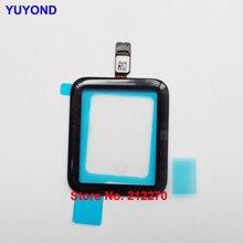 Сенсорный экран YUYOND дигитайзер стеклянная панель объектива для Apple Watch Серия 1 2 3 4 38 мм 42 мм 40 мм 44 мм дигитайзер сенсорного стекла