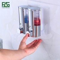300 2ml Liquid Soap Dispenser Wall Mounted Shampooing Soap Dispensers High Quality Manually Hotel Soap Dispenser