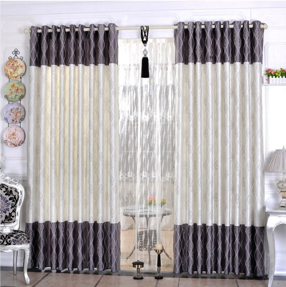 Free Shipping Home Textile Curtain Design Jacquard Curtain Minimalist  Modern Style Living Room Bedroom Curtains For