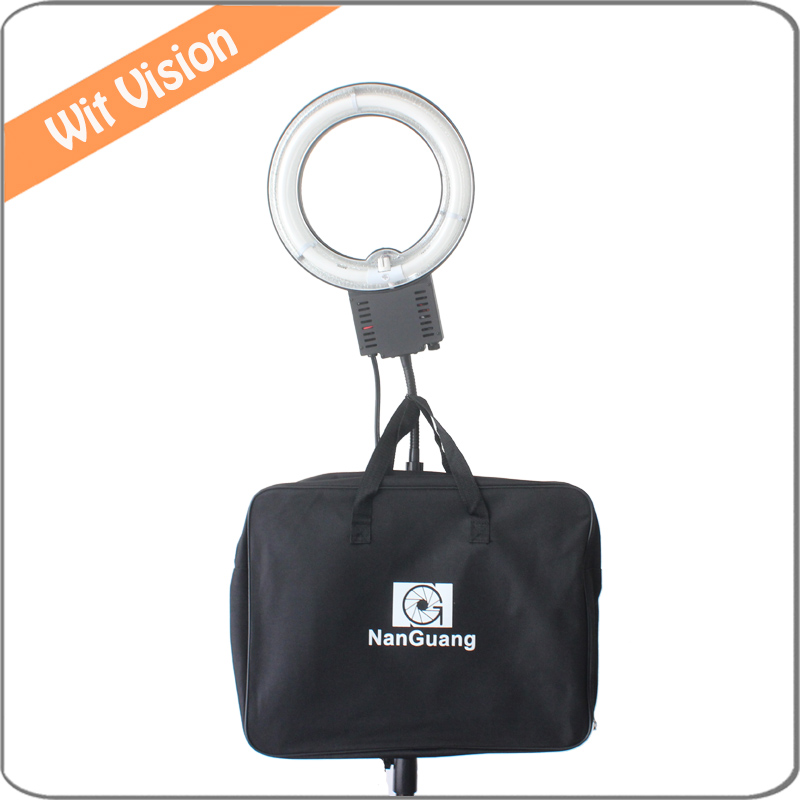 ФОТО 22W 5400K Fluorescent Ring Lamp Light with Bag for Small Objects Shooting Portrait Photo Lighting