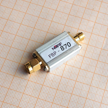 Free shipping FBP-870 870 (840~900) MHz bandpass filter, ultra small volume, SMA interface