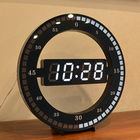 Digital Wall Clock Modern Design Automatically Adjust Brightness Large Led Display Electronic Clocks Wall Watch Home Decor