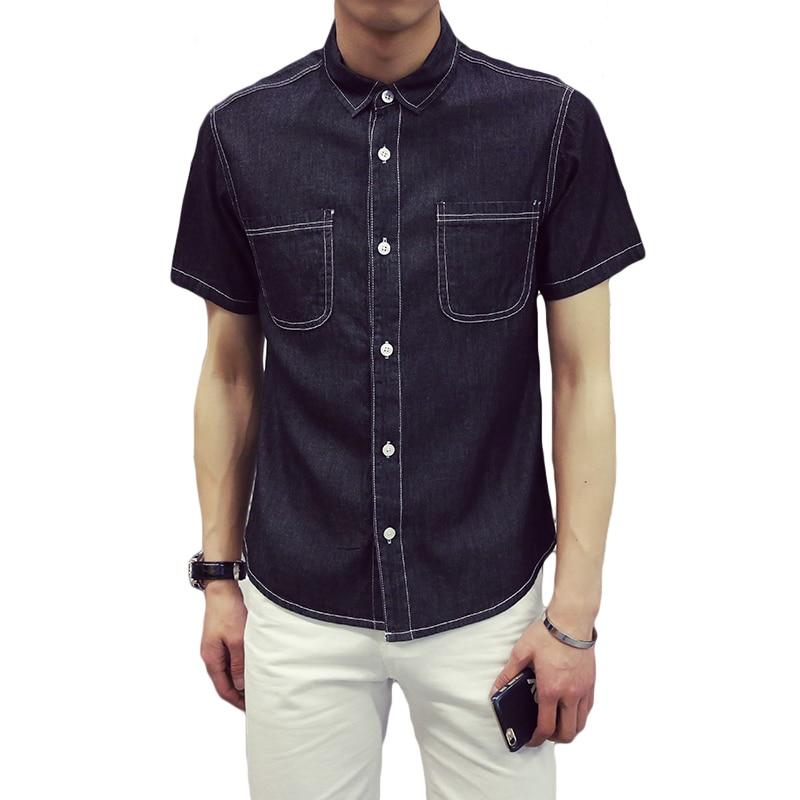 buy sale men shirt short sleeve black