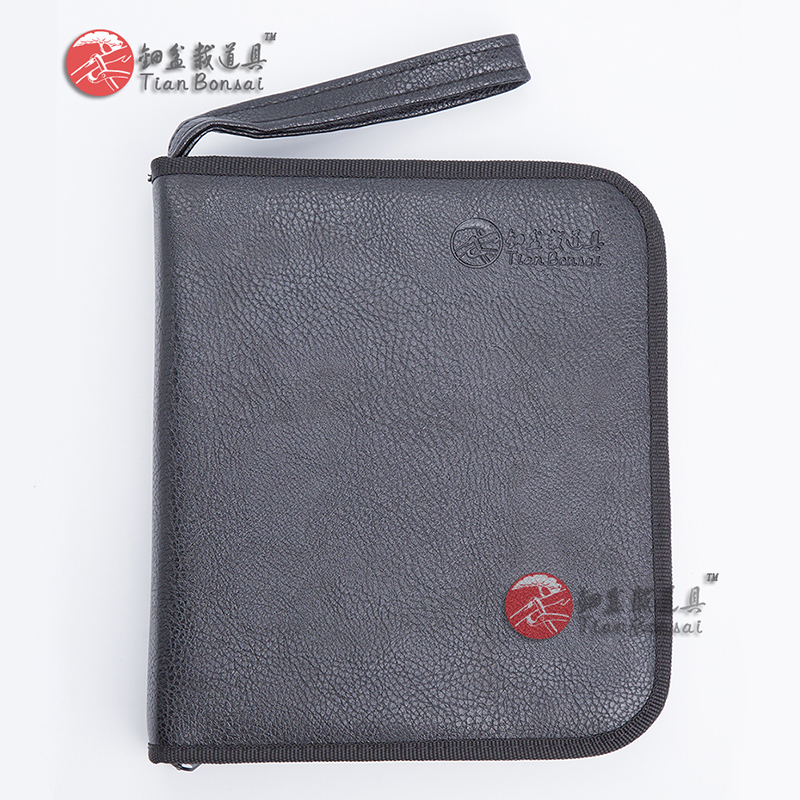 Bonsai Tools Tool Set Case Made From Durable Faux Leather #TKB-01 Made By TianBonsai Company