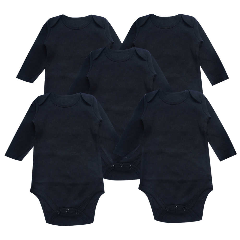 ea4d12092 Detail Feedback Questions about Newborn Baby Bodysuit Black 3 Pack ...