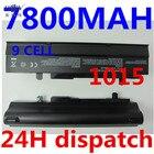 HSW 7800mAH Laptop battery For Asus Eee PC VX6 1011 1015 1015P 1015PE 1016 1215N 1215B A31-1015 A32-1015 AL31-1015 PL32-1015