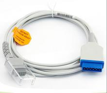 Фотография Free Shipping Compatibe for GE 11pin  ( Nellcor Module) to DB9PIN Spo2 Adapter Cable Spo2 Extension Cable Patient Monitor Cable