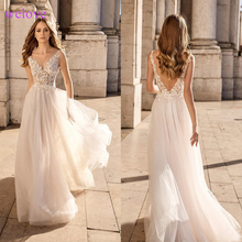 Robe de mariee Wedding Dress with A-Line Bride Dress