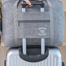 Torby podróżne przenośne torebki damskie męskie torby podróżne wodoodporne nylonowe składane torby na laptopa torba o dużej pojemności bagażu tanie tanio Wszechstronny 35cmcm 60cmcm zipper Podróż torba 350gg ssss SOFT Moda polyester 40cmcm Stałe
