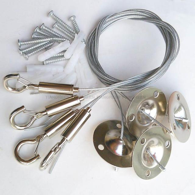 Industrial Tools Steel Wire Rope with lock Hook for Lighting ...