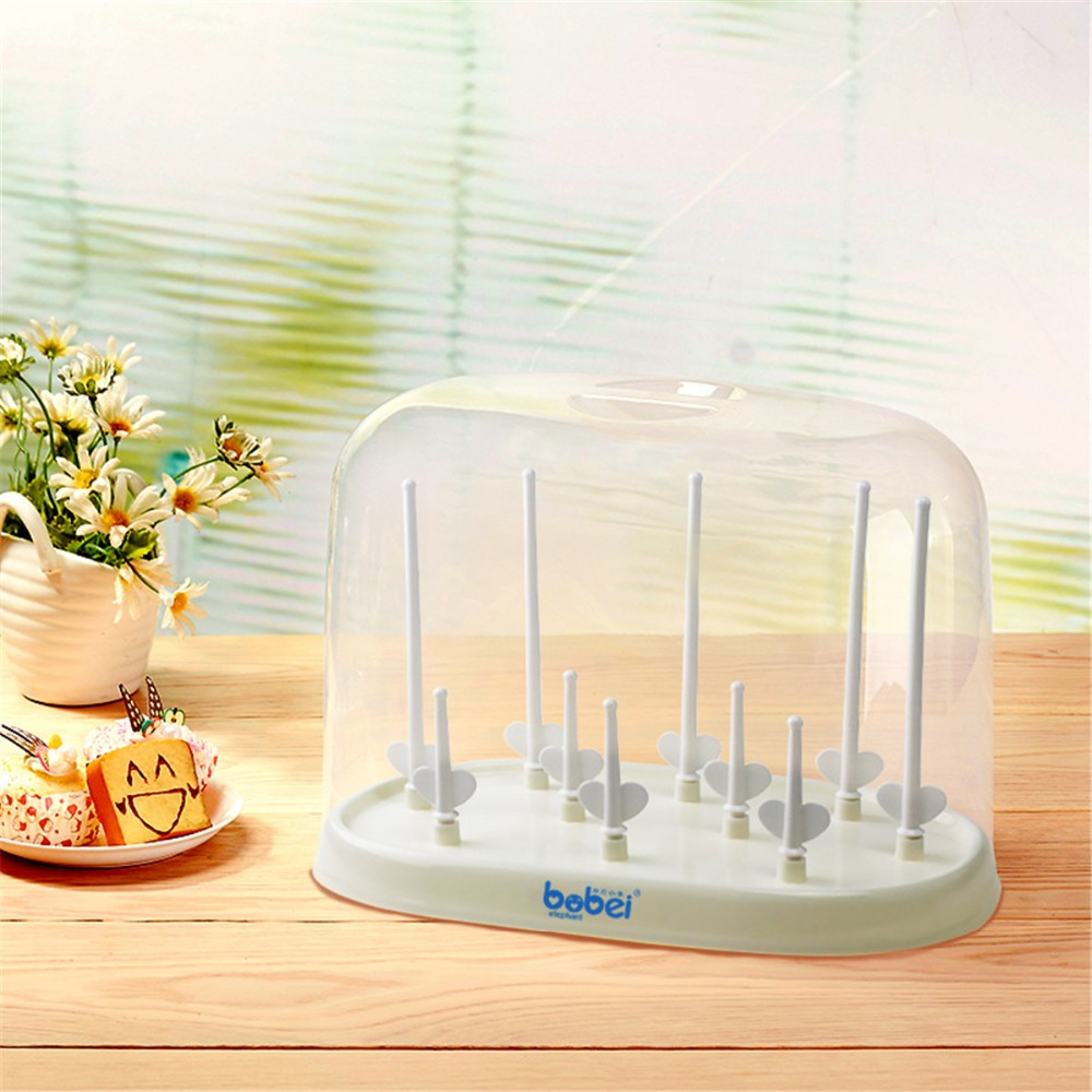 nipple shelf pacifier bottle feeding cup holder hanging bottle drying rack for infant baby detachable feeding bottle drying rack