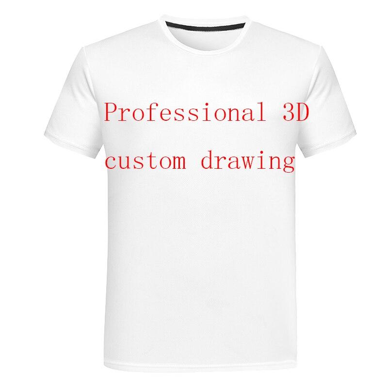 2019 3D printing T-shirt Custom Wholesale