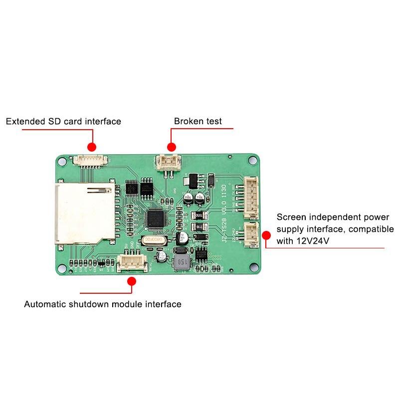 JZ-TS28 2.8 pouces écran tactile couleur pour Ramps1.4 MKS Board 3D pièces d'imprimante @ JH