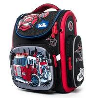 Cartoon School Bags girls Mochila Infantil Car Children Orthopedic School Backpacks for Boys Primary Schoolbag kids Grade 1 5