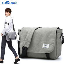 Tuguan Unisex Messenger Bags Korean Waterproof Famous Brand Women Men Business School Student Satchel Bag Crossbody Shoulder