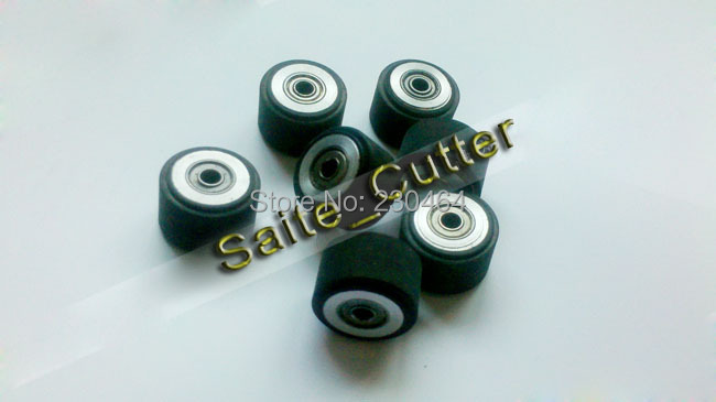 3 Pcs Hq Pinch Rollers For Roland Mimaki Vinyl Cutter