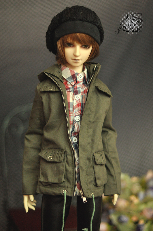 1/4 1/3 70cm SD13 SD17  boy man woman aod dod msd sd bjd doll  clothes coat M368