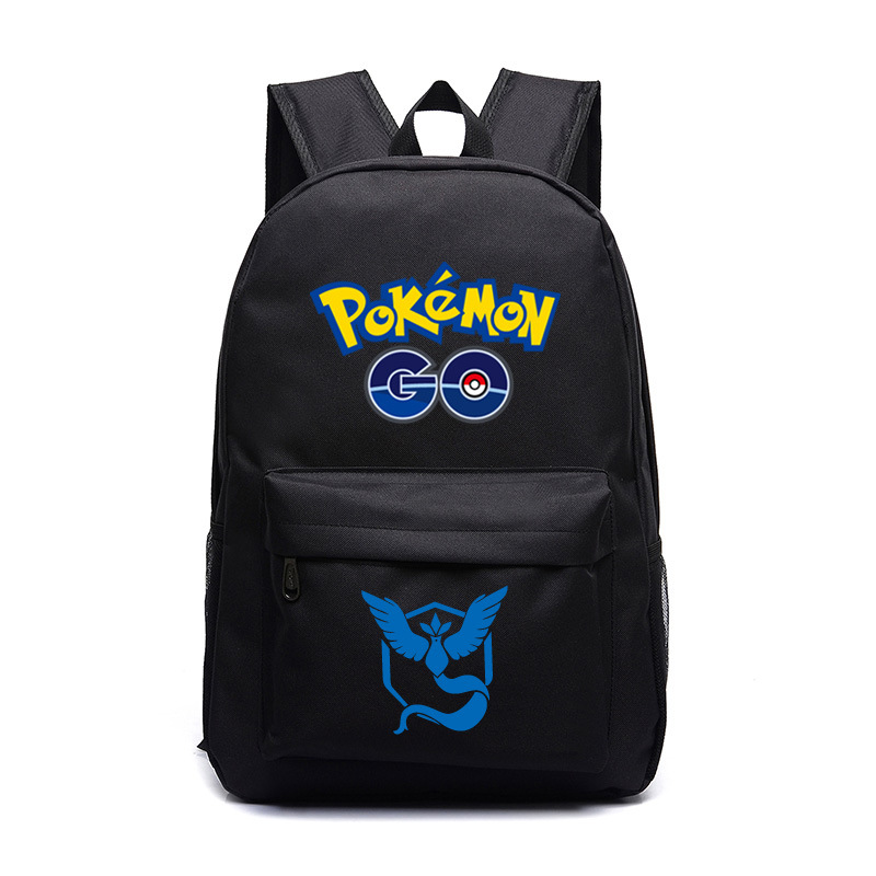 2016 hot selling berømte Pokemon Go Ryggsekk Pokemon Gengar Ryggsekker School Vesker For Teenager Girls Mochila
