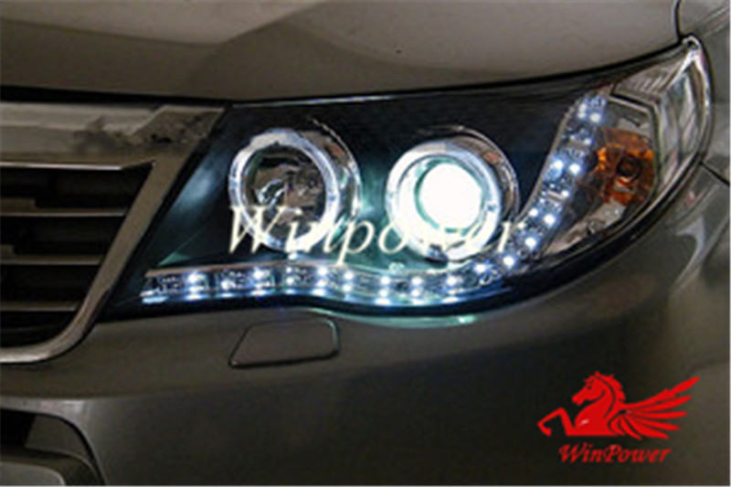 2008 2009 2010 2017 Subaru Forester Headlight With Angel Eye And Bi Xenon Projector