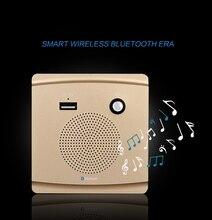 86 벽 소켓 스피커 홈 시어터 배경 음악에 대 한 지능형 블루투스 오디오 패널 블루투스 스피커