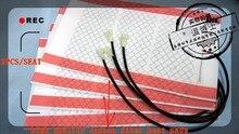 4 шт./лот Коврики-грелки из углеродного волокна, подогрев автомобильного сидения