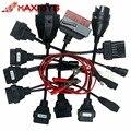 Nova chegada conjunto completo tcs CDP cabos carro TCS 8 cabos com Interface da Ferramenta de diagnóstico do carro para DS150 cabo livre grátis