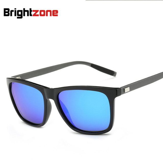 391c9bc2e9 New Pattern Sunglasses Aluminum Magnesium Square Colorful Polarized Light  Sunglasses New Glasses oculos de sol gafas