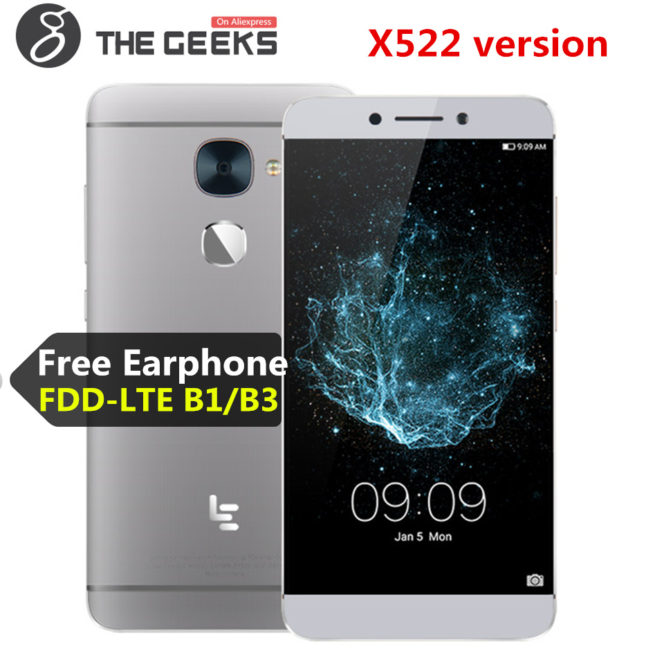 LeEco LeTV Le S3 X522/Le 2X526 3 gb RAM 32 gb ROM Snapdragon 652 1.8 ghz octa Core 5.5 pouce Android 6.0 4g LTE Smartphone