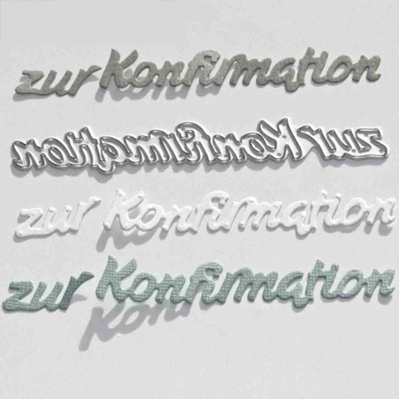 CH 2019 جديد وصول الألمانية إلكتروني المعادن قطع يموت الإستنسل ل سكرابوكينغ ألبوم صور الديكور النقش ورقة بطاقة الحرفية
