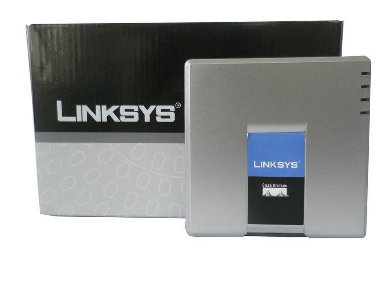 LINKSYS PAP2T-NA SIP Voip-telefonadapter voip-telefon Linksys PAP2T Internet TELEFON-ADAPTER Zwei Telefonanschlüsse ohne kleinkasten