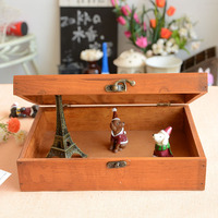 Ontvangen een nieuwe Woninginrichting Parijs toren slot doos houten kruidenier CD13