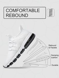 Image 5 - ONEMIX Air 95 احذية الجري الرجال أحذية رياضية خفيفة الوزن تنفس شبكة لينة الانزلاق على في الهواء الطلق الركض المشي تنس أحذية رياضية