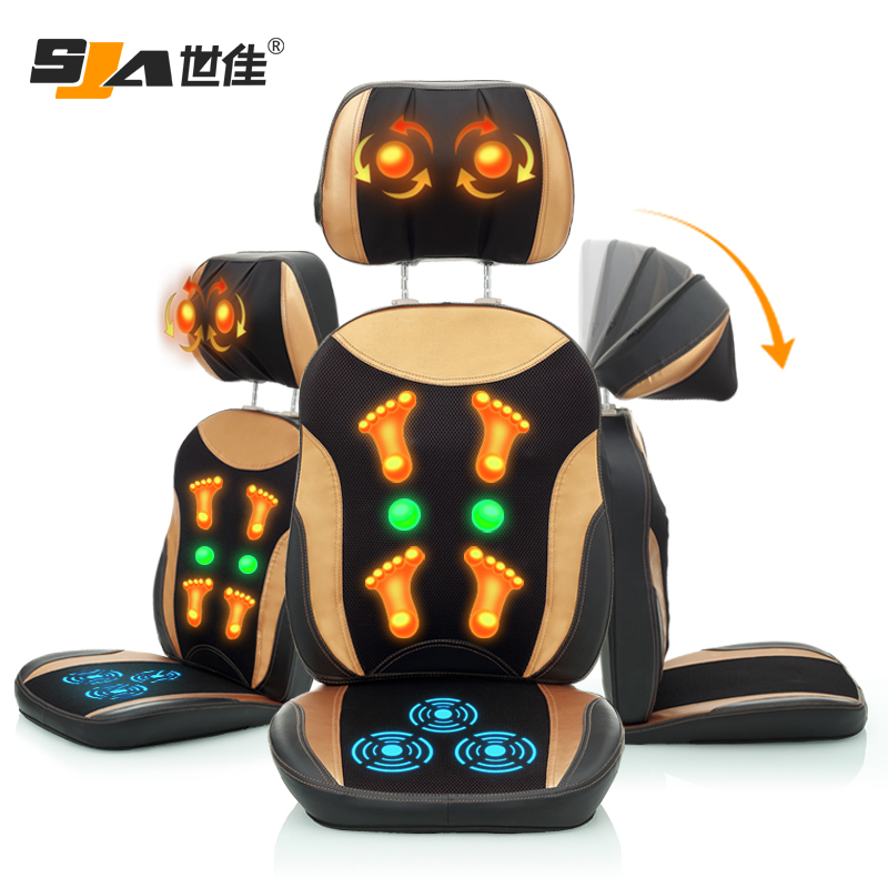 Aliexpress Buy Free shipping Heated Massage Cushion fice Chair Massage Cushion Seat Massage Cushion Wholesale As Seen TV from Reliable