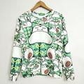 Mulheres homens Pokemon snorlax impressão bordado 3d moletons hoodies roupas Tops